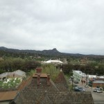 Prescott Downtown square sky line view