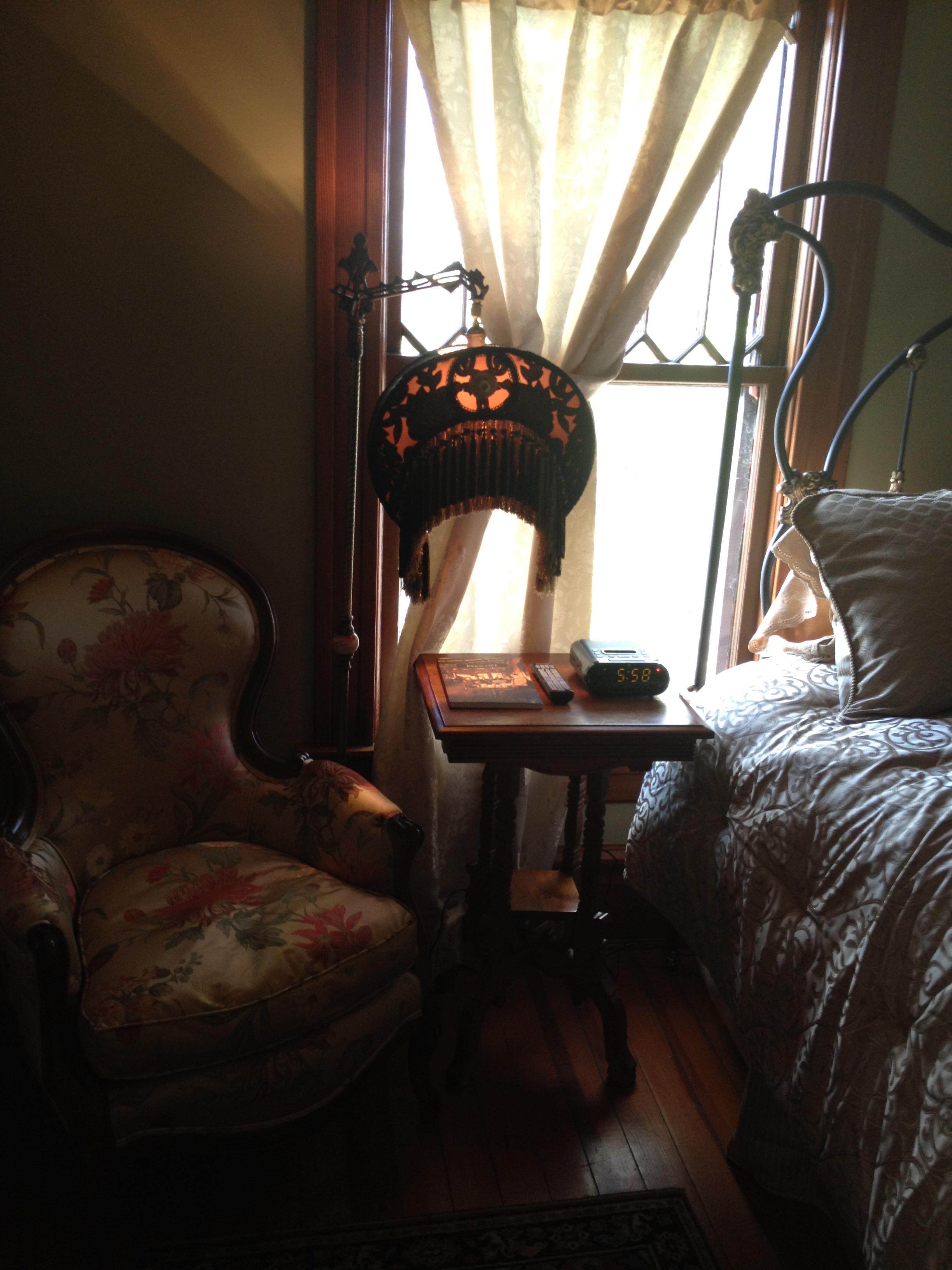 prescott victorian rental home master bedroom
